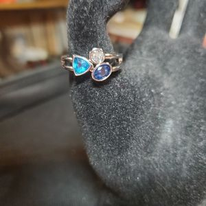 New sterling silver ring sz 8